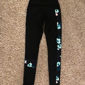 PINK Victoria Secret Floral Leggings